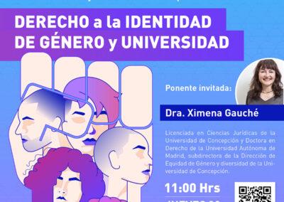 Conversatorio: Derecho a la identidad de género y universidad