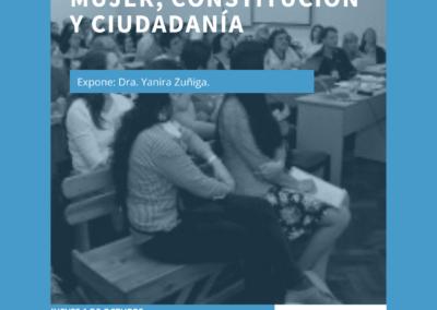 Conversatorio: Mujer, constitución y ciudadanía