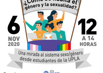Conversatorio: ¿Cómo se habita el género y la sexualidad?