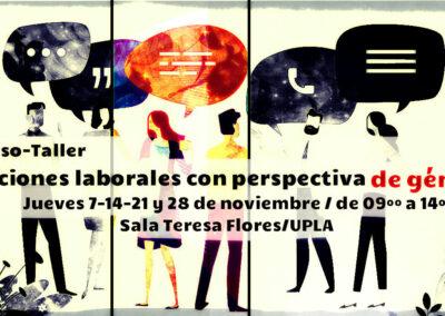 Curso-taller: Relaciones laborales con perspectiva de género