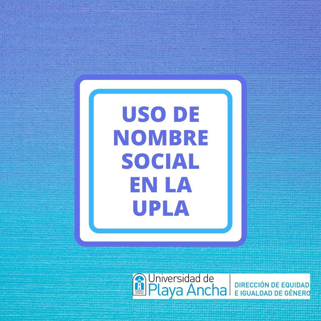 Identidad de género en la UPLA
